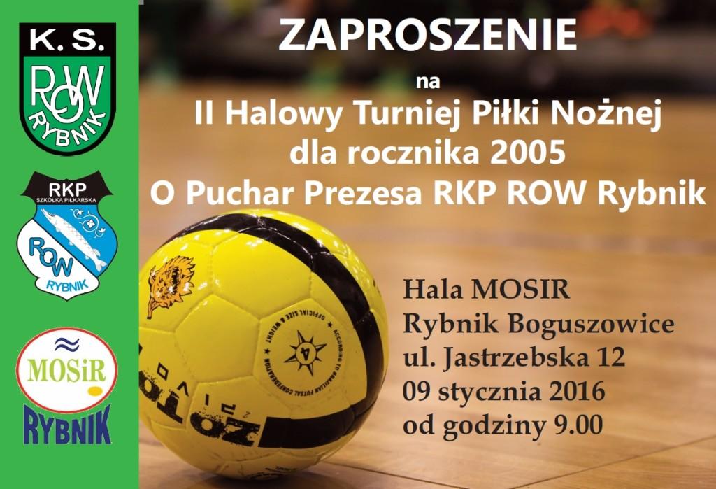 Zaproszenie - turniej Rybnik 9.01.2016(1)